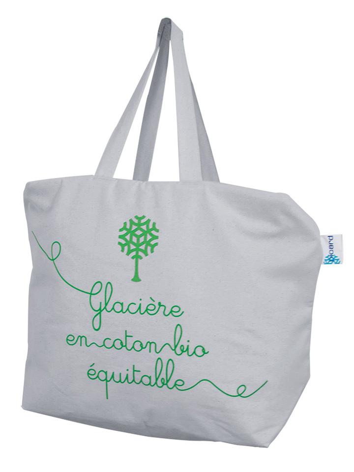 Patentierte Kühltasche aus Bio-Baumwolle