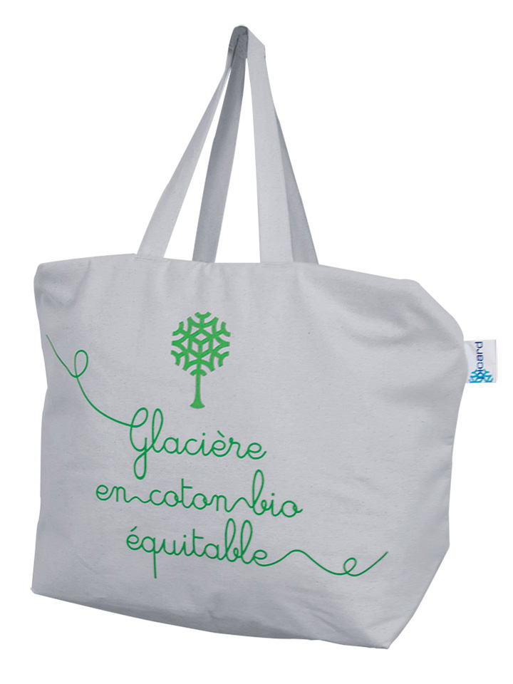 Insulated bag patented cotton organic