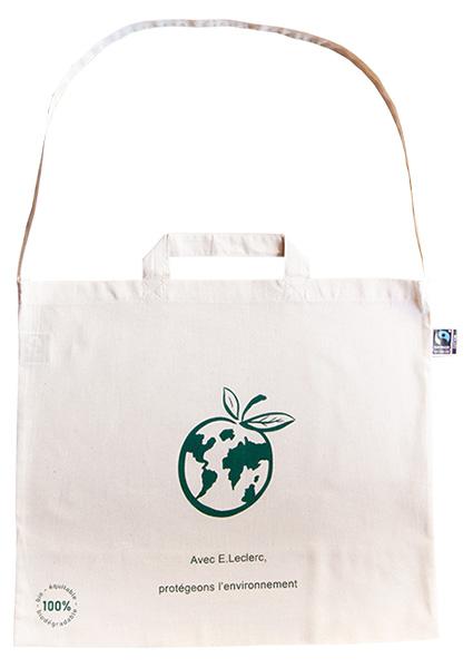 Anpassbare Einkaufstasche aus Bio-Baumwolle